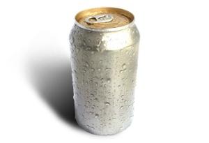 Canette en aluminium